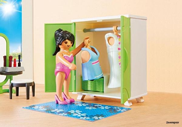 Playmobil Dollhouse Slaapkamer : Playmobil slaapkamer met make up tafel zevenspoor