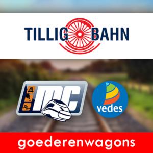 Tillig-Bahn Goederenwagons