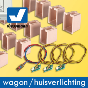 Viessmann Led Wagon en Huisverlichting