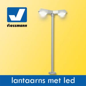 Viessmann lantaarns met ledverlichting