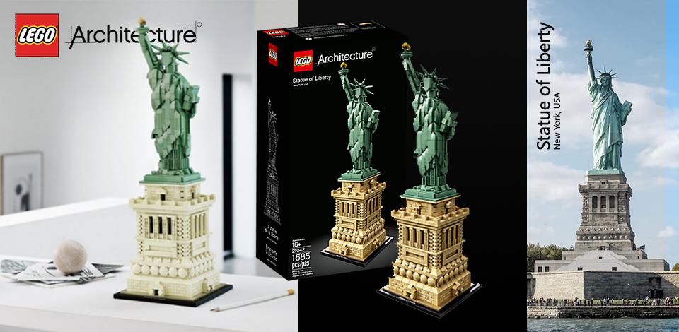 Slider LEGO Vrijheidsbeeld