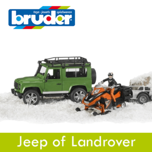Bruder Jeep of Landrover