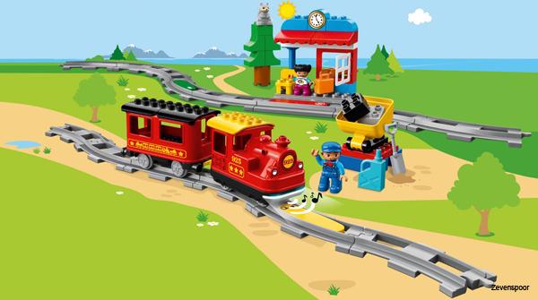 Tren de vapor Duplo Town NUEVO Lego 10874