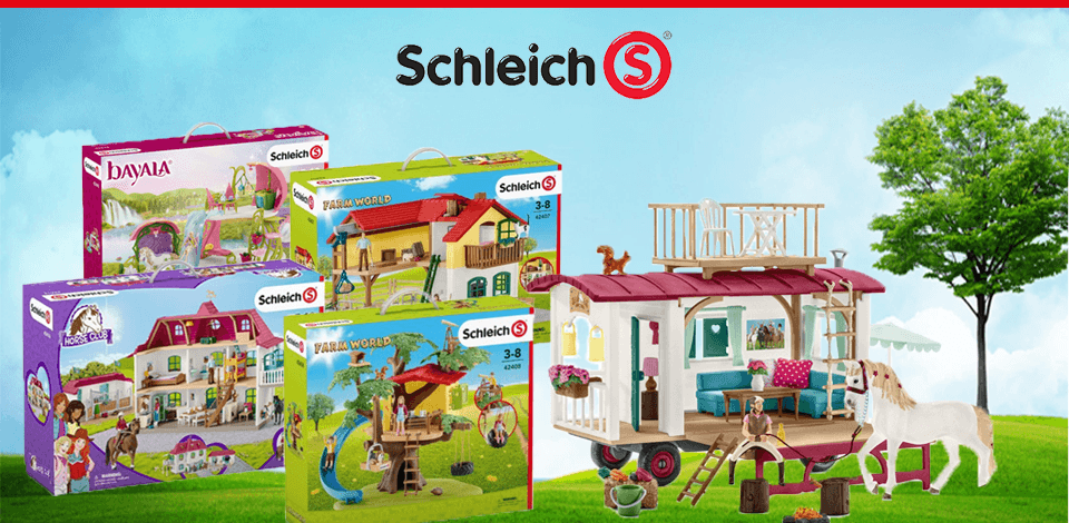 Schleich nieuwe sets Bayaia, Farm World, Horse Club