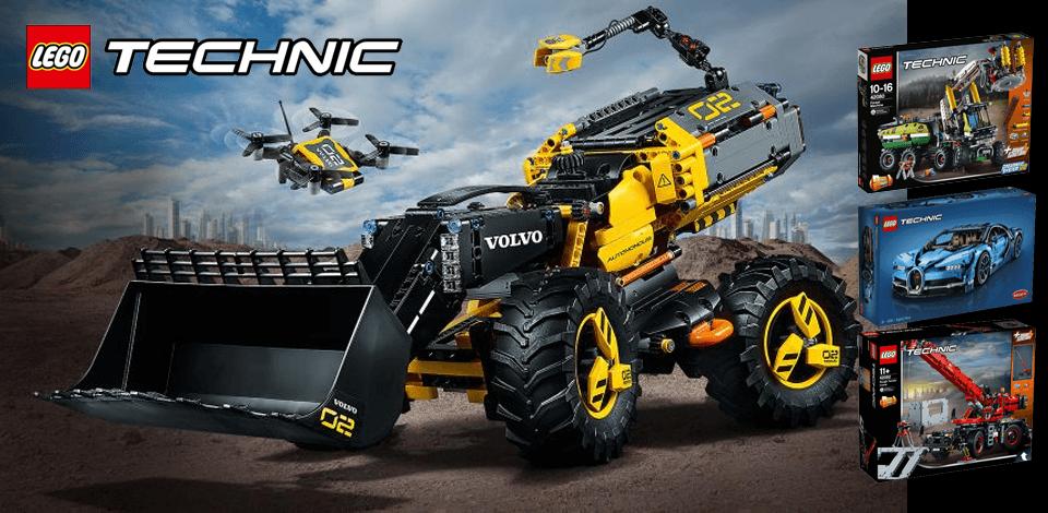 LEGO Technic 42081 Volvo