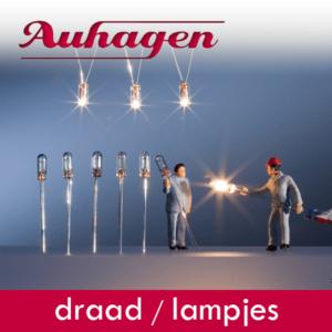 Auhagen onderdelen draad en lampjes