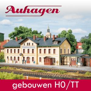 Auhagen kunststofbouwpakketten gebouwen HO/TT