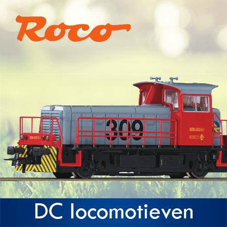 Roco DC Lokomotieven