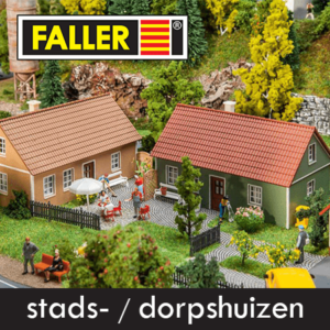 Faller Stads-Dorpshuizen