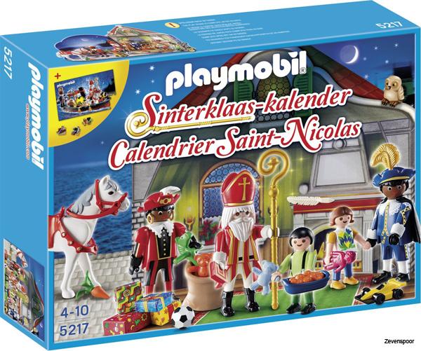 Playmobil Weihnachtskalender.5217 Playmobil Adventskalender Sinterklaas Zevenspoor