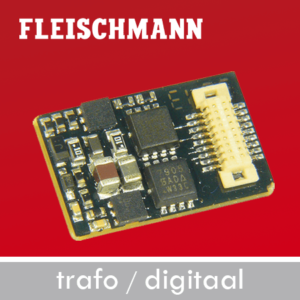 Fleischmann Trafo, digitaal