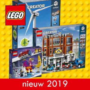 2019 LEGO® Nieuw