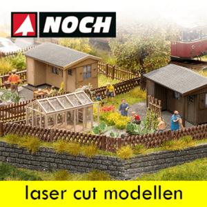 Noch Laser cut modellen en mini's