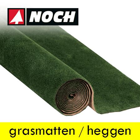 Noch Grasmatten en Heggen