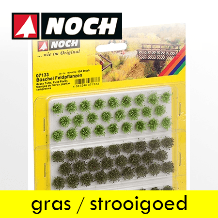 Noch Gras, Strooigoed en Flokken