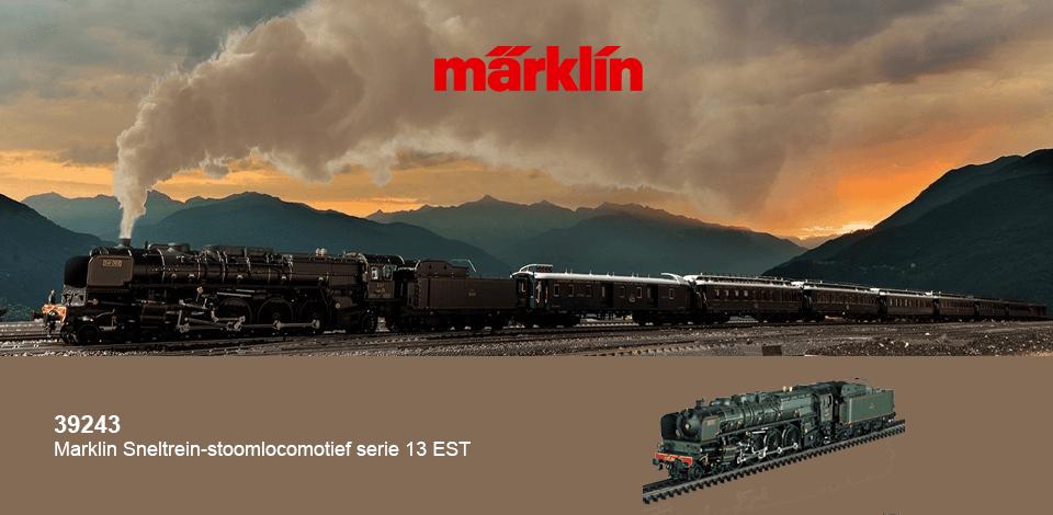 Märklin 39243 sneltrein stoomlocomotief serie 13 est