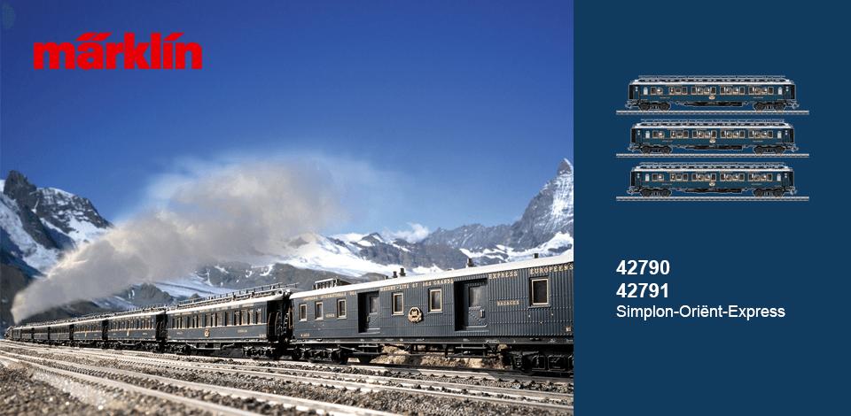 Märklin 42790 42791 Simplon Oriënt Express