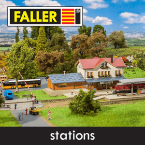 Faller Stations, Perrons