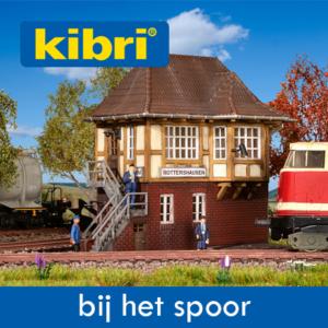 Kibri Bij het Spoor en Seinhuizen