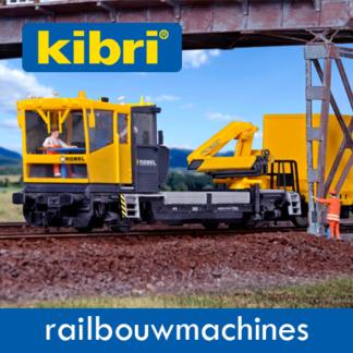 Kibri Railbouwwagons/Machines