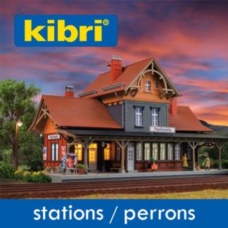 Kibri Stations/Perrons