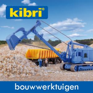 Kibri Bouw en Grondverzet-Werktuigen