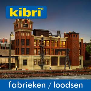 Kibri Goederenloodsen/Fabrieksgebouwen