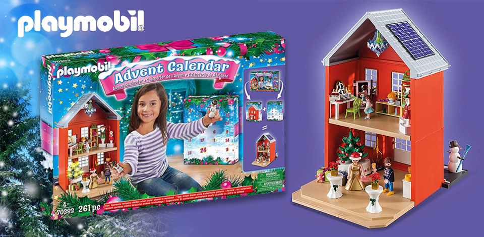 70383 Playmobil® Adventskalender XL Kerst in huis