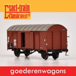 Exact-train Goederenwagons