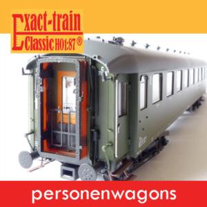 Exact-train Personenwagons
