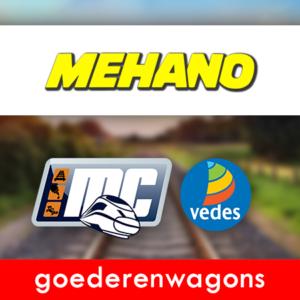 Mehano Goederenwagons